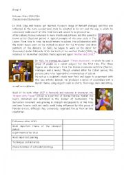 English Worksheet: Picasso�s life and works (part 2)