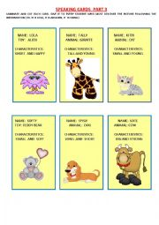 speaking cards for young learners (3/3)