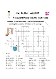 Crossword Puzzle with IPA clues (and definitions)