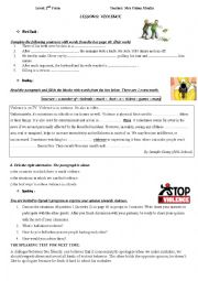 Level 2 nd form  Lesson 9 Violence
