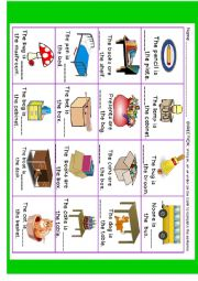 English Worksheet: In, On or Under (NEW!)