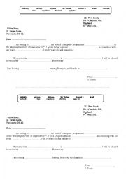application letter form