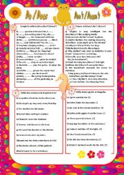 English Worksheet: Do/Does/Don�t/ Doesn�t