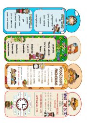 English Worksheet: BOOKMARKS
