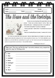 The Hare and The Tortoise (Fable)