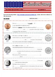 English Worksheet: The American currency