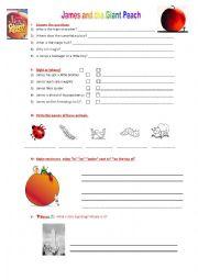 Printables James And The Giant Peach Worksheets english worksheets james and the giant peach worksheet peach