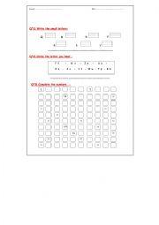 english worksheets the alphabet worksheets page 238. Black Bedroom Furniture Sets. Home Design Ideas