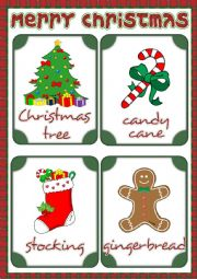Christmas - flashcards 1