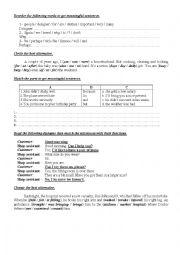 9th Form worksheet  24