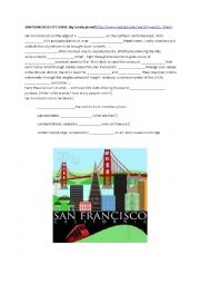 English Worksheet: San Francisco City Guide