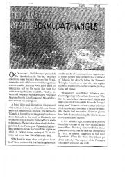 English Worksheet: the mystery of the Bermuda triangle