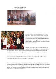 English Worksheet: Coach Carter
