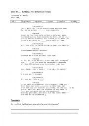 Good Will Hunting Job Interview Scene
