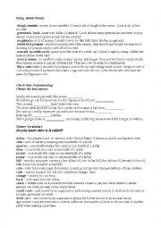 English Worksheet: Money Slang