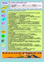 Prefixes (+ key)