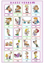 Basic Verbs #2