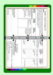 English Worksheet: Module 1 /section 5 . Writing