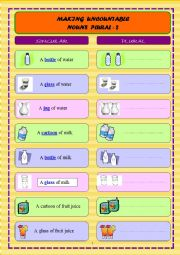 MAKING UNCOUNTABLE NOUNS PLURAL - 2