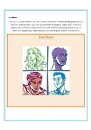 Yearbook, gossip book