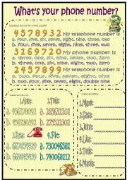 what´s your telephone number