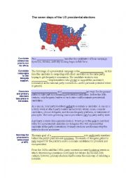 english worksheets the american election process. Black Bedroom Furniture Sets. Home Design Ideas