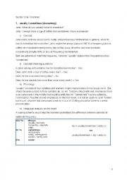 English Worksheet: CELTA Assignment 2: Language Related Tasks
