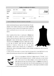 Reading comprehension: The Batman