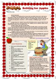Bobbing for Apples (reading comprehension)