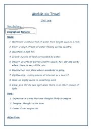 English Worksheet: booklet