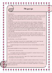 English Worksheet: philanthropy
