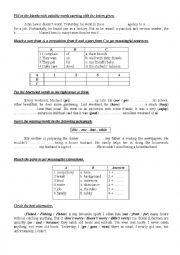 9th form worksheet 16