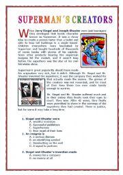 SUPERMAN CREATORS
