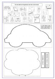 English worksheet: Living and non-living things for second graders