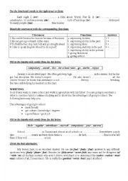 9th form worksheet 17