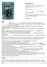 English Worksheet: Sherlock  Holmes Movie by Guy Ritchie