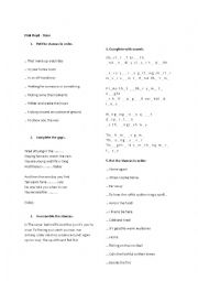 English Worksheet: Pink Floyd - Time - song worksheet
