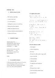 English Worksheet: Pink Floyd - Time - song worksheet