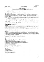 English Worksheet: Holocaust Lesson Plan