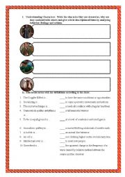 English Worksheet: The Big Bang Theory- The Middle Earth Paradigm
