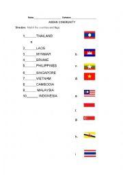 English Worksheet: ASEAN COMMUNITY