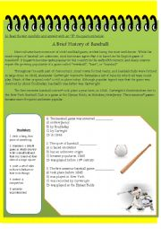 A Brief History of Baseball