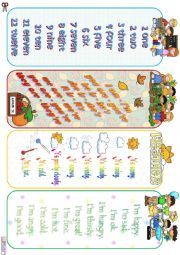 English Worksheet: Grammar Bookmarks - editable