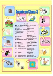 English Worksheet: American Slang-3