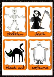 Halloween flashcards (2)