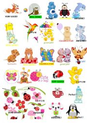 English Worksheet: award stickers