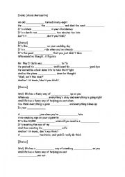 English Worksheet: Song activity - Ironic - Alanis Morissette