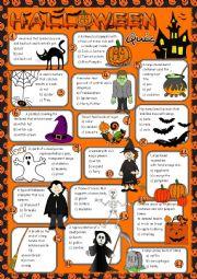 Halloween quiz *KEY included*