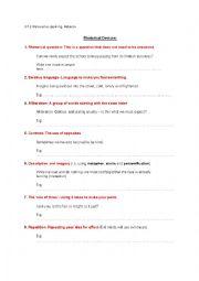English Worksheet: persuasive speaking