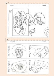 Alphabet  Booklet 1